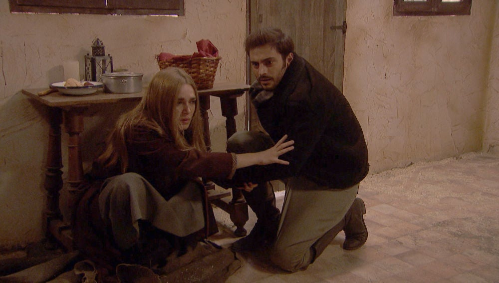 Julieta y Saúl, en peligro de muerte en pleno rescate