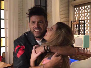 Pablo López y Miriam Rodríguez 'La Voz'