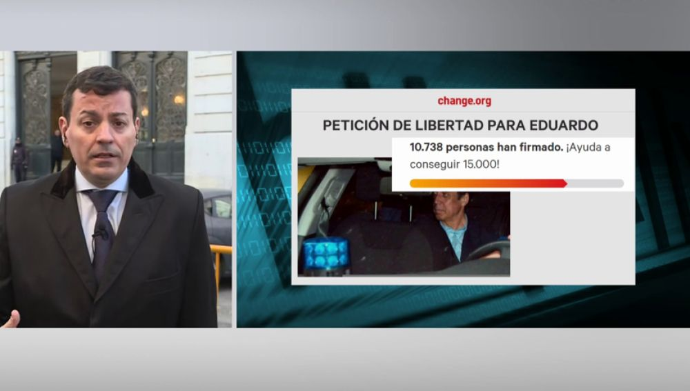 Nuevas Generaciones del PP entrega 10.000 firmas de apoyo a Zaplana en el Consejo del Poder Judicial
