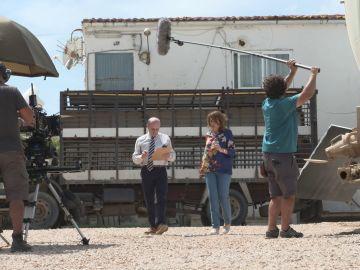 Nos colamos tras las cámaras para descubrir cómo se grabó el primer capítulo  de 'Matadero'