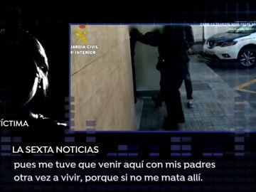 """Una exnovia del líder de 'La Manada' de Callosa: """"Con la última paliza me tuve que volver con mis padres porque si no me mata allí"""""""
