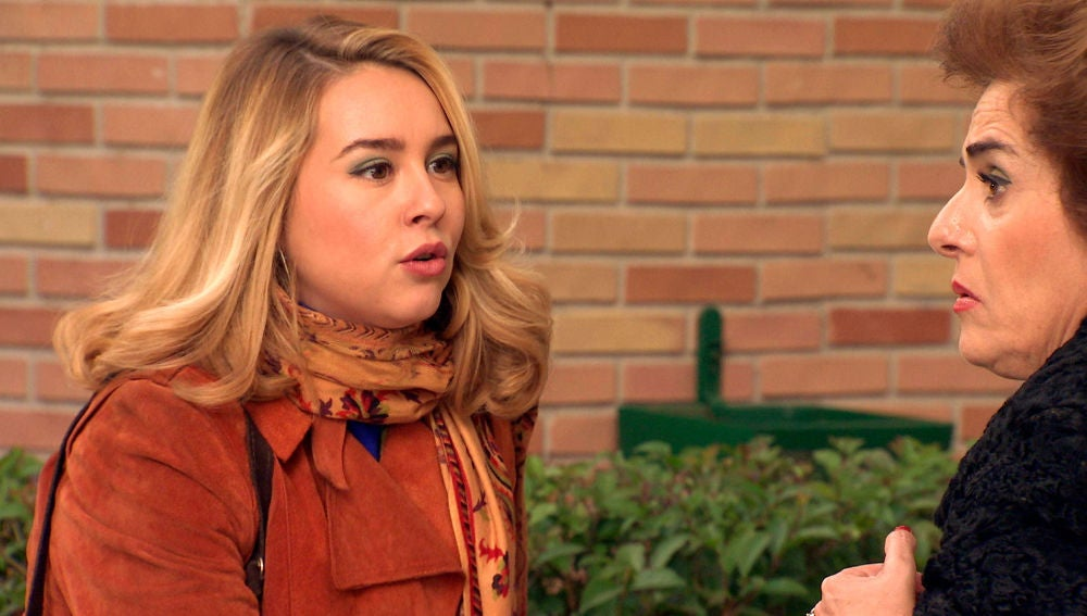 Benigna, ¿un peligro para la relación de Amelia y Luisita?