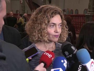 """La ministra Batet pide a los independentistas que decidan su voto a los Presupuestos """"en función del contenido"""""""