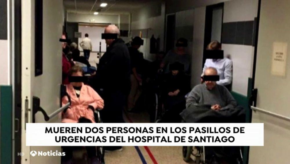 REEMPLAZO La Fiscalía investiga el fallecimiento de dos pacientes en el pasillo de las Urgencias del Hospital de Santiago
