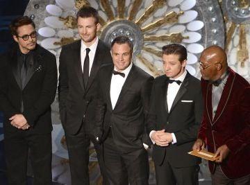 Los Vengadores en los Oscar 2013