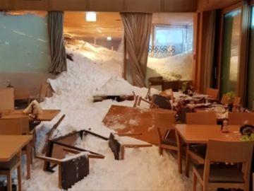 La nieve colapsa el centro de Europa