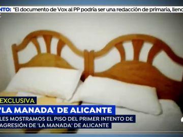 Imágenes en exclusiva del piso en el que 'la Manada' de Alicante comenzó los abusos sexuales a la joven
