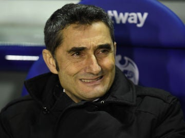 Valverde, durante el partido contra el Levante