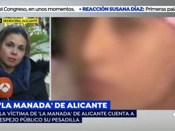 """'Espejo Público' habla con la víctima de 'La Manada' de Callosa: """"Está sobrepasada, solo habla delante de la madre"""""""