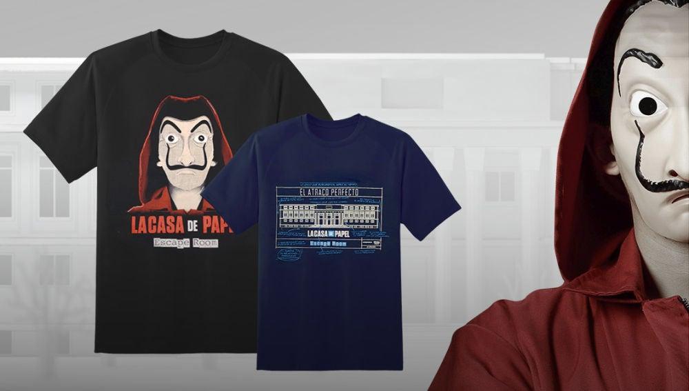 Consigue una camiseta oficial de 'La casa de papel' participando en el trivial