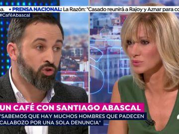 El tenso momento de Santiago Abascal con Susanna Griso al hablar de la ley de violencia de género