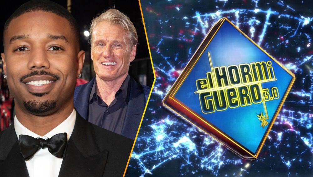 El jueves vuelve Hollywood a 'El Hormiguero 3.0' con la primera visita de los actores Michael B. Jordan y Dolph Lundgren