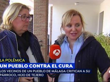 Un pueblo de Málaga, en contra de un hijo de Tejero que es el cura del pueblo