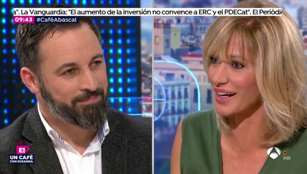 Entrevista completa a Santiago Abascal en Espejo Público