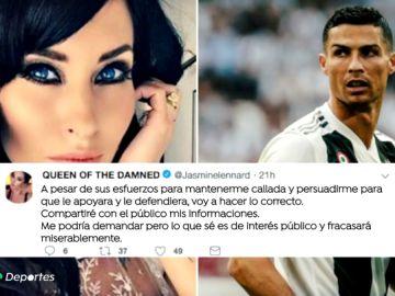 """Una exnovia de Cristiano Ronaldo ataca al portugués: """"Es un jodido psicópata y un mentiroso"""""""