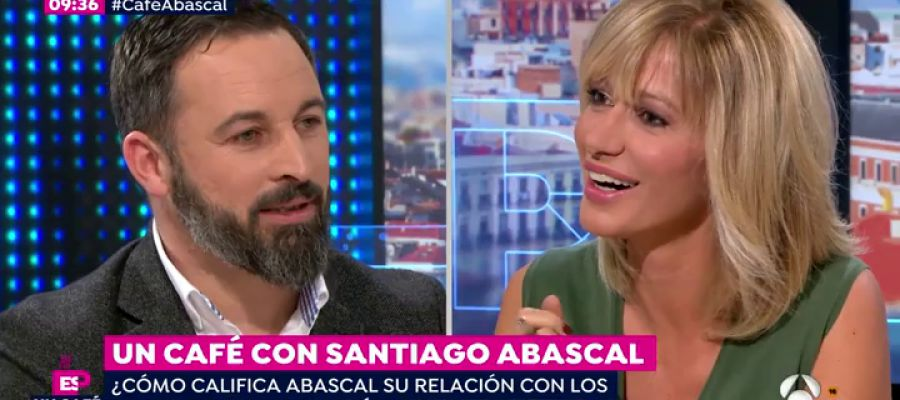 Los 10 titulares que ha dejado santiago abascal en su for Antena 3 espejo publico hoy