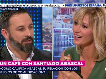 Los 10 titulares que ha dejado Santiago Abascal en su entrevista en 'Espejo Público'