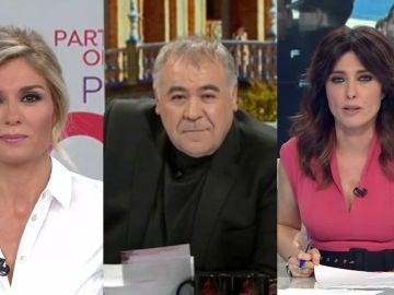 Atresmedia, referencia informativa con máximos de temporada para Antena 3 Noticias 1, 'Al rojo vivo' y laSexta Noticias 14H