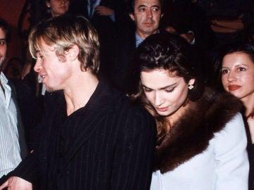 Brad Pitt y Mar Saura