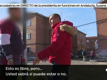 Expulsan a un equipo de 'Espejo Público' del conflictivo barrio de 'Las Viudas' en Valladolid