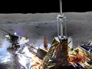 La Administración Espacial China ha compartida un vídeo mostrando el aterrizaje en el lado oculto de la Luna