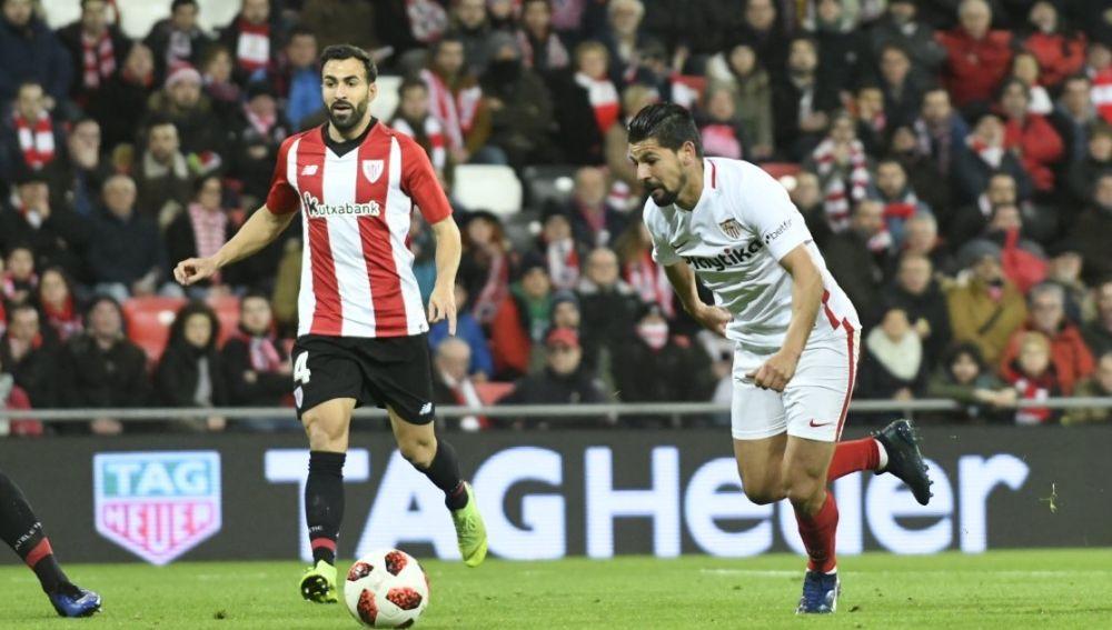 Nolito, en un partido ante el Athletic