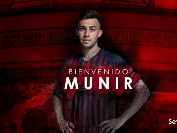 Munir, nuevo jugador del Sevilla