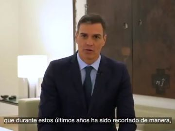 Sánchez destaca que el objetivo central de los presupuestos son las personas