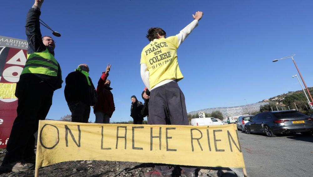 Protestas 'chalecos amarillos'