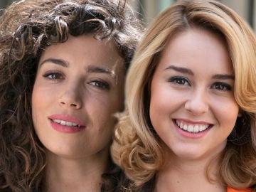 El beso de Luisita y Amelia revoluciona las redes sociales