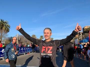 Martín Fiz bate el récord del mundo