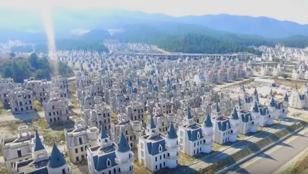 Pueblo de castillos Disney