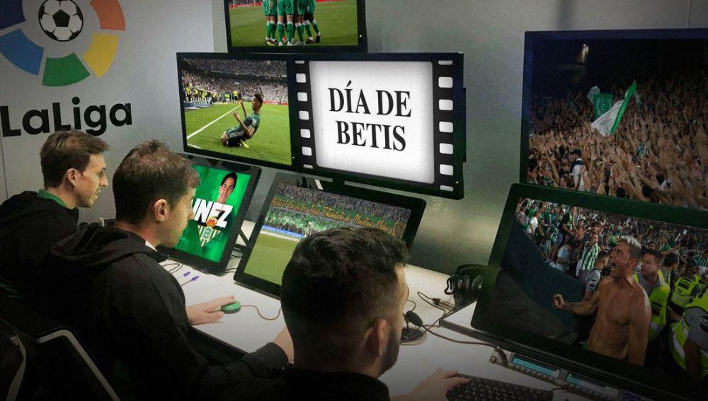 El cartel promocional del Betis para el partido contra el Real Madrid