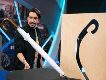 El 'paraguas mágico' de Marron deja sin palabras a todos en 'El Hormiguero 3.0'