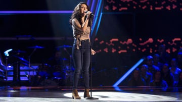 Susana Montaña canta 'I surrender' en las 'Audiciones a ciegas' de 'La Voz'