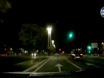 Se salta los semáforos sin carné y triplicando la tasa de alcohol