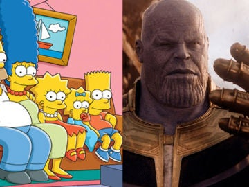 'Los Simpson' y Thanos