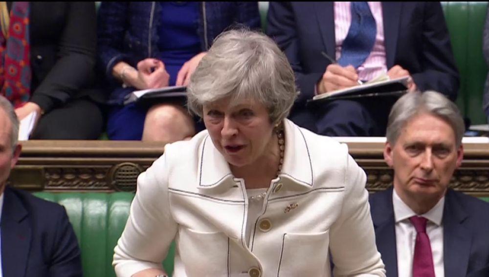 Theresa May intenta in extremis convencer a los diputados antes de la votación de mañana