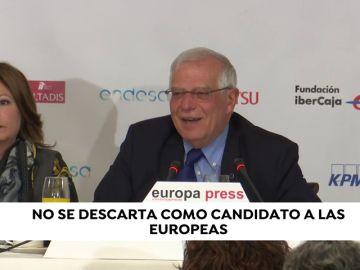 Borrell no se descarta para encabezar la lista del PSOE a las europeas