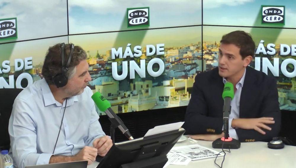 """Rivera, a Sánchez: """"El futuro de España pasa por acuerdos entre constitucionalistas no con acuerdos 'guerracivilistas'"""""""