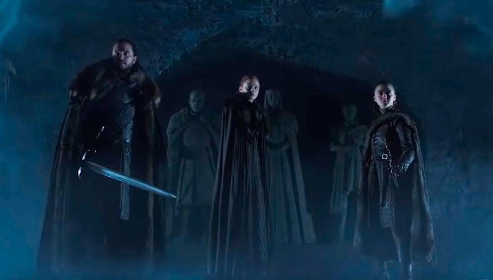 Los Stark en la última temporada de 'Juego de Tronos'