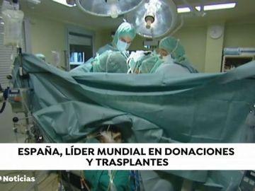 España, 27 años líder mundial en donación y trasplante de órganos