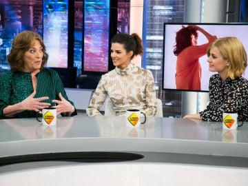 Carmen Maura, Clara Lago y Alexandra Jiménez desvelan en 'El Hormiguero 3.0' el momento en el que más peligro han pasado rodando