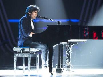 Andrés Iwasaki canta 'Is this love' en las 'Audiciones a ciegas' de 'La Voz'