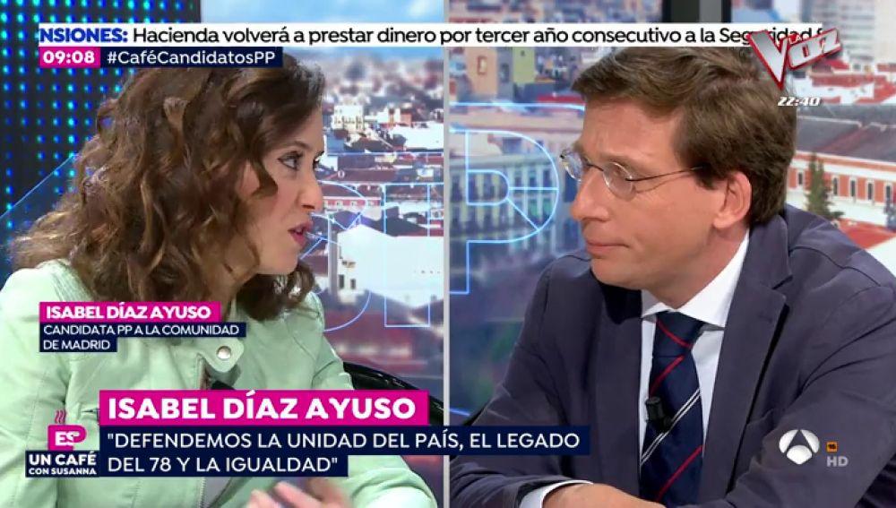 """Martínez Almeida: """"Somos los únicos que garantizamos un gobierno de centroderecha en Madrid"""""""