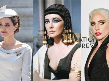 Angelina Jolie, Elizabeth Taylor y Lady Gaga