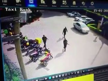 El momento en el que los terroristas atacan el hotel de Nairobi