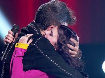"Pablo López, orgulloso de tener a Lola Jiménez en su equipo: ""Eres perfectamente imperfecta"""