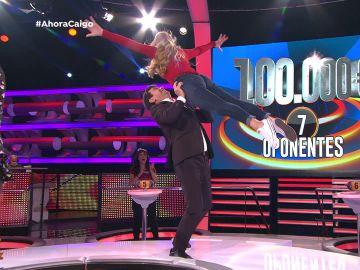 El momentazo de Arturo Valls con Isa bailando 'Dirty Dancing'