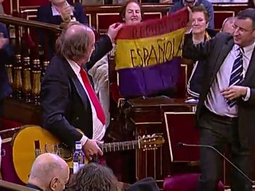 Homenaje en el Senado a los republicanos españoles exiliados tras la Guerra Civil